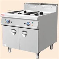 2015 Style Electric 2-tank Fryer (2-Basket) with Cabinet