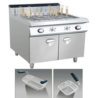 Gas Style pasta Cooker With Cabinet