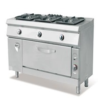 Gas Style 3-Burner With Oven & Cabinet