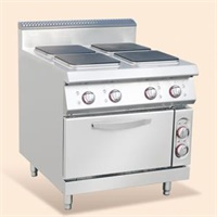 Electric 4 Hot-plate Cooker With Oven