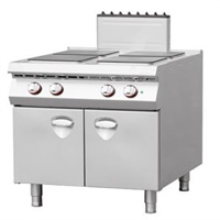 Italy Style Electric 4-Hot-plate cooker with Cabinet