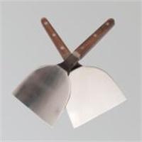 Imported Wood Handle Teppanyaki Shovel Spatula Teppanyaki Cookin