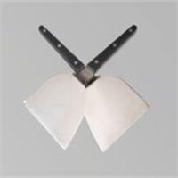Black Handle Teppanyaki Shovel Spatula Teppanyaki Cooking Tools